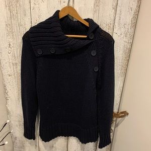 Michael Kors navy sweater size large